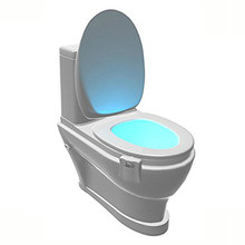 Z90Litwod Smart Bathroom Toilet Nightlight LED Body Motion Activated Seat Sensor Lamp 8 Color PIR Toilet Night Light lamp(China)
