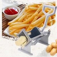 Manual Heavy Duty French Fry Cutter, Potato Cutter ,Potato Slicer,potato wedge machine 4pc(7mm,10mm,14mm Flower knife)