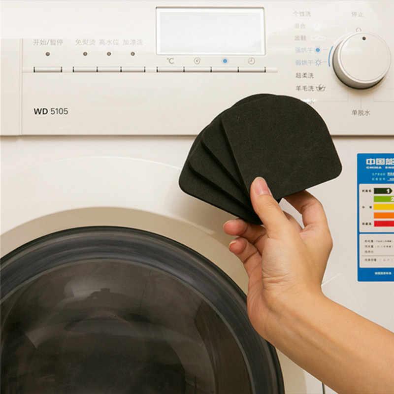 4 個洗濯機パッドショックアブソーバー電気耐衝撃マットスポンジステッピングマット家具足冷蔵庫マット TSLM2