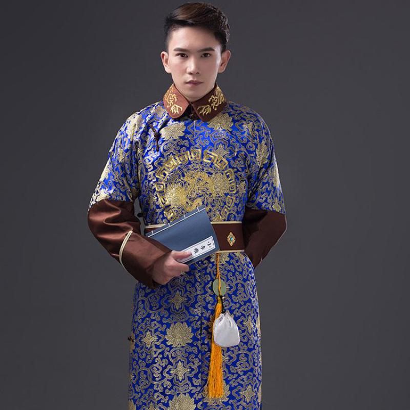 54407411d3e New Men Film Television Performance Dragon Robe Qing Dynasty Royal Young  Prince Clothing Chinese Ancient Clothes Cosplay Costume-in Robe   Gown from  Novelty ...