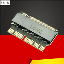 H1111Z Add On Cards M.2 Adapter M2 to SSD for Macbook Air 2013 2014 2015 M.2 M Key NVME PCIe X4 M.2 NGFF to SSD for Apple Laptop(China)