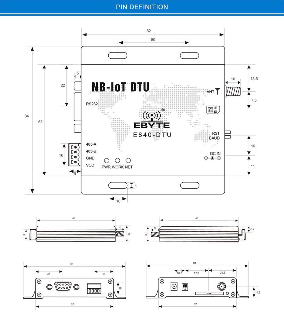 E840-DTU(NB-02) NB-IoT RS485 RF Transceivers (14)
