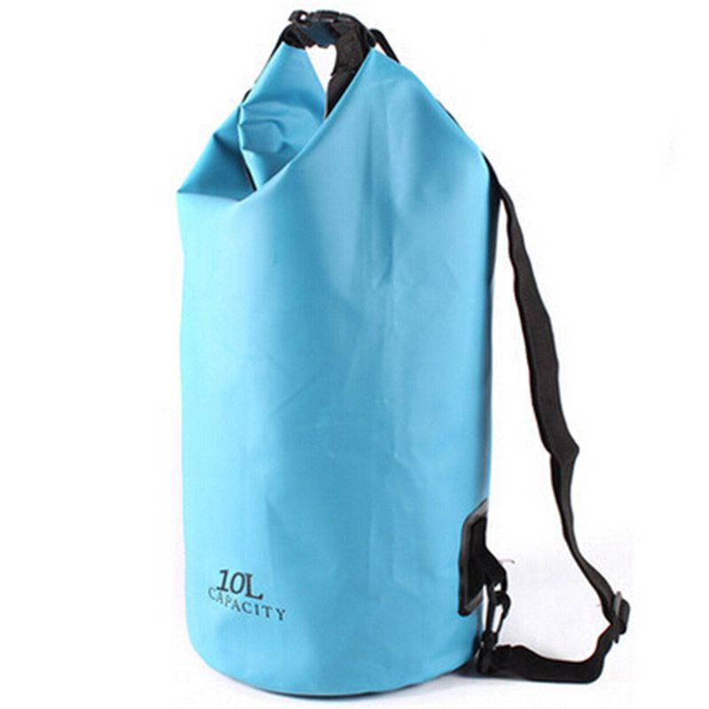 Ultra Large Capacity Swim Bag Thick Waterproof Men Women Swimming Fashion Solid Color Sport Foldable Summer 10l In Bags From