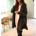 Knitted Cardigans Hooded Sweater For Young Lady Autumn Hot Selling Cardigan Women Full Sleeve Long Loose  A982
