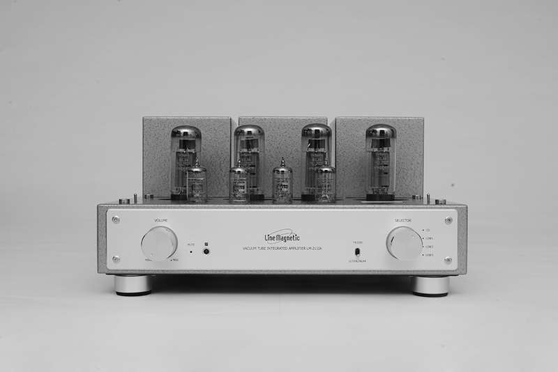 J-007 Line Tube Magnetic Amplifier LM-211IA Integrated EL34*4 Push-Pull Tube Amplifier 32W*2(Ultralinear) 15W*2(Triode) line tube amplifier magnetic tube amplifier lm 501ia class ab1 integrated tube amplifier a kt120 4 100w 2 great power output