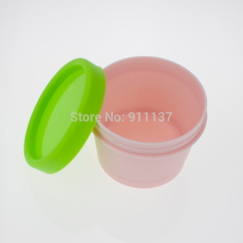 100pcs cheap round pp empty large plastic jars for cream , cosmetic 100 ml plastic jar , frost pp cosmetic 100 ml jar