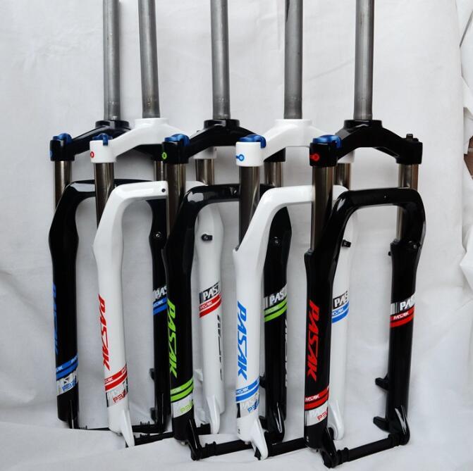 Snowmobile front fork ATV shock absorber oil spring lock aluminum 26 inch wide tire 4.0 cross-country bike цена
