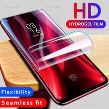 Front Soft Silicone Screen Protector Full Cover For Xiaomi Redmi 7 K20 Note 7 Pro 8 Mi 9 SE Mi 9T Mi9 t Mi9t Clear Hydrogel Film