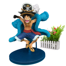 Anime One Piece 20th Anniversary Monkey D. Luffy PVC Action Figure Collectible Model Christmas Gift Toy For Children 16 cm