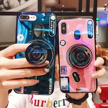 XS Case 3D Retro Camera Phone Cases For iPhone MAM XR X case Shockproof for iphone 8 7 6 6s Plus Soft Silicone TPU Cover