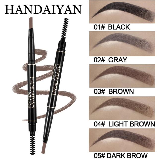 Handaiyan Eyebrow Pencil Fine Sketch Waterproof Long Lasting Eye
