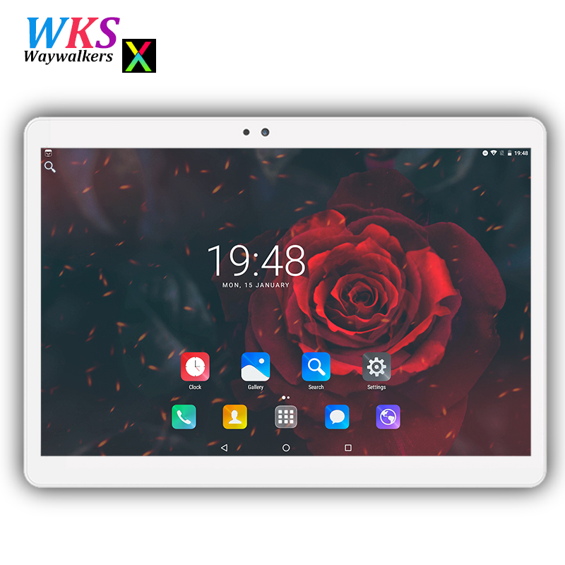 2018 Newest 10 inch tablet pc Android 7.0 octa core RAM 4GB ROM 32/64GB Dual SIM Bluetooth GPS 1280*800 2.5D IPS Smart tablets
