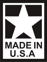 10000 шт./лот 25x38 мм Сделано в США бумага с клеевым слоем сзади этикетка наклейка, пункт No. SL09