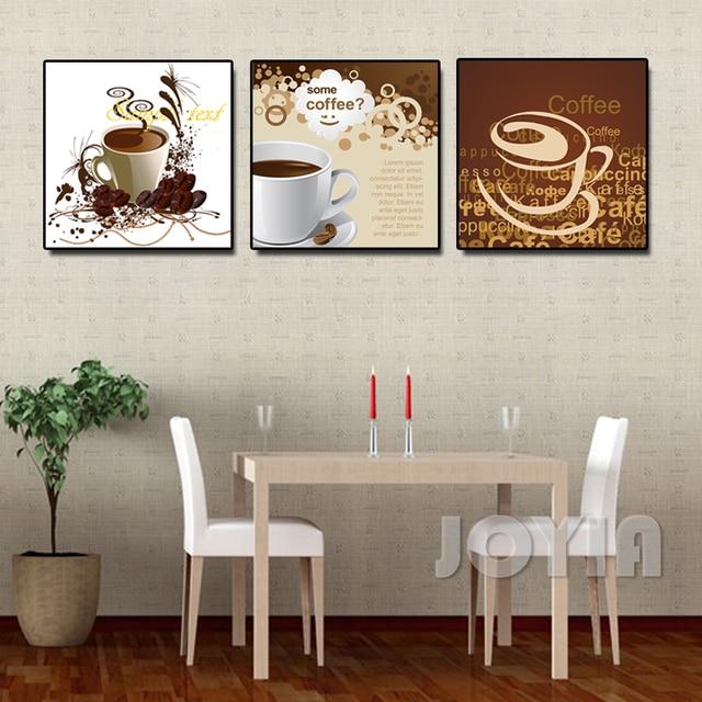 abstrait café mots art photos pour la décoration murale salle À ... - Decoration Murale Salle A Manger