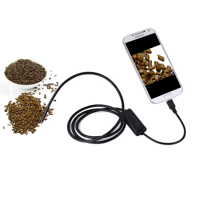 Android OTG Endoscope 7mm Mini Waterproof IP67 Endoscope Inspection Snake Camera for Samsung Galaxy S5 S6 Note 2 3 4