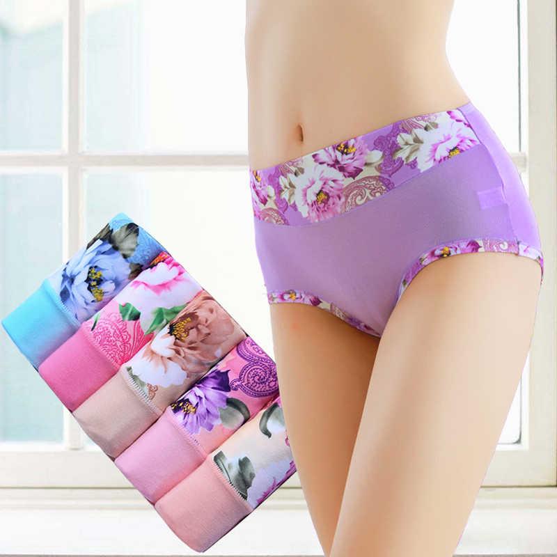 3 ชิ้น/ล็อต PLUS ขนาดชุดชั้นในสตรีกางเกงเซ็กซี่กางเกงคุณภาพสูง Calcinha Intimates กางเกง Ropa ชุดชั้นใน S-4XL