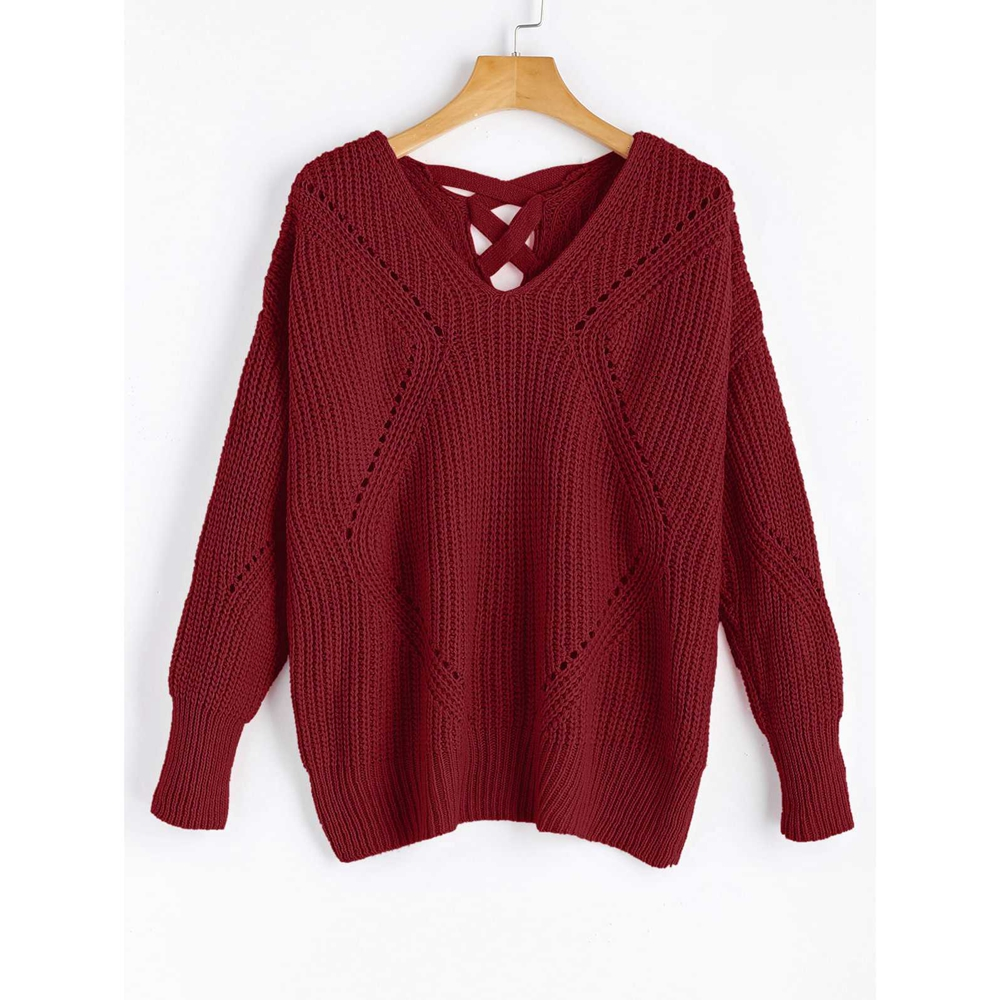 Aliexpress.com : Buy ZAFUL Autumn Winter Women Knitted Sweater ...