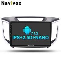 Navivox 10 2 Din Video Android 7 1 Eight Core 2G 32G For Hyundai IX25 Creta