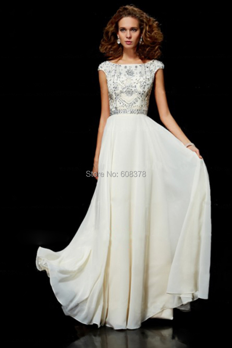 Best selling free shipping chiffon cheap ivory long modest for Best selling wedding dresses