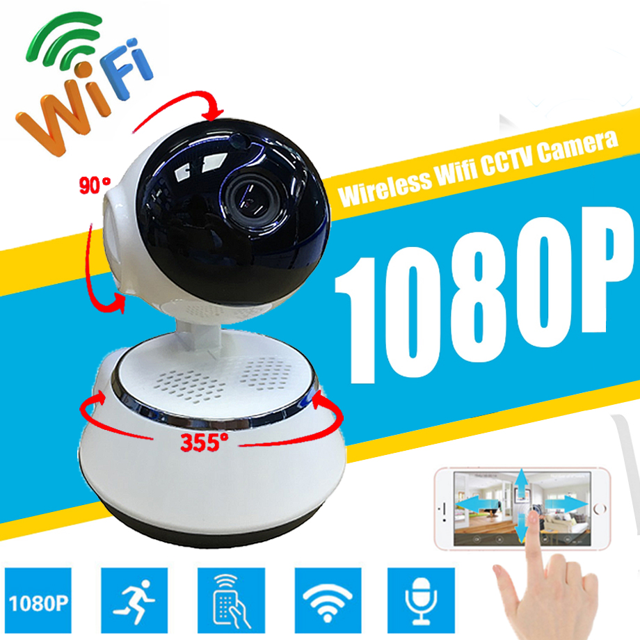 Home Security IP Camera Wireless Smart WiFi Camera Audio Record Surveillance Baby Monitor Remote monitoring 720P 1080P V380 APP