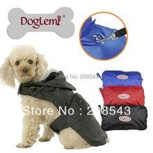 DogLemi  Pet Dog Rain Coat Jacket Clothes large Dog Raincoat jacket Waterproof 3 Colors