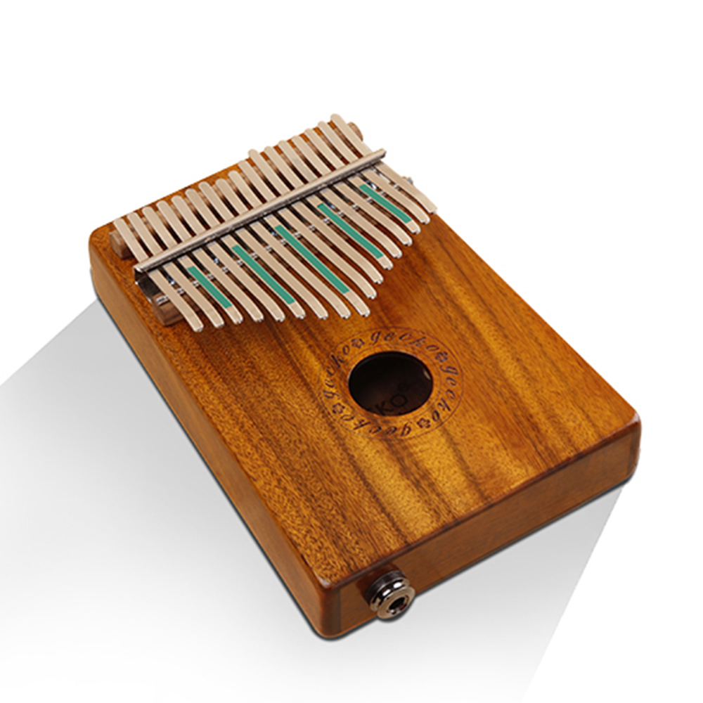 GECKO 17 Keys K17K K17KEQ Kalimba Music Thumb Piano Finger Percussion Keyboard Portable Traditional Musical Instrument Wooden все цены