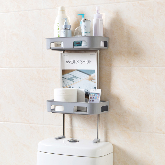 Free perforated multi layer Storage rack washstand bathroom racks ...