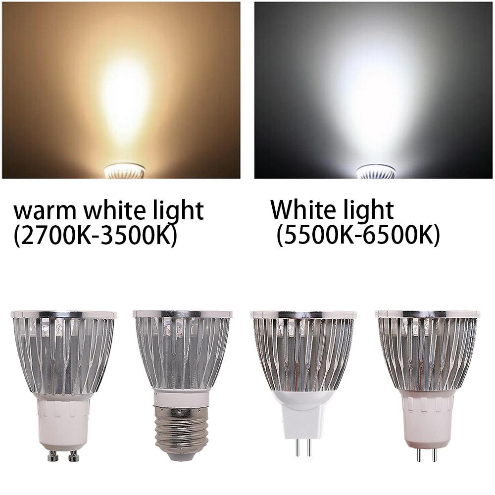 Купить с кэшбэком Gu10 E27 Mr16 Lampada Led 5w Spot Light Bulb Ac85-265v Spotlight Warm White cold White