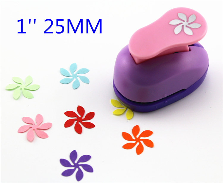 Free Ship Flower Eva Foam Punch Child Diy Craft Punch Scrapbook Paper Cutter Scrapbooking Punches Embosser  S2937-5