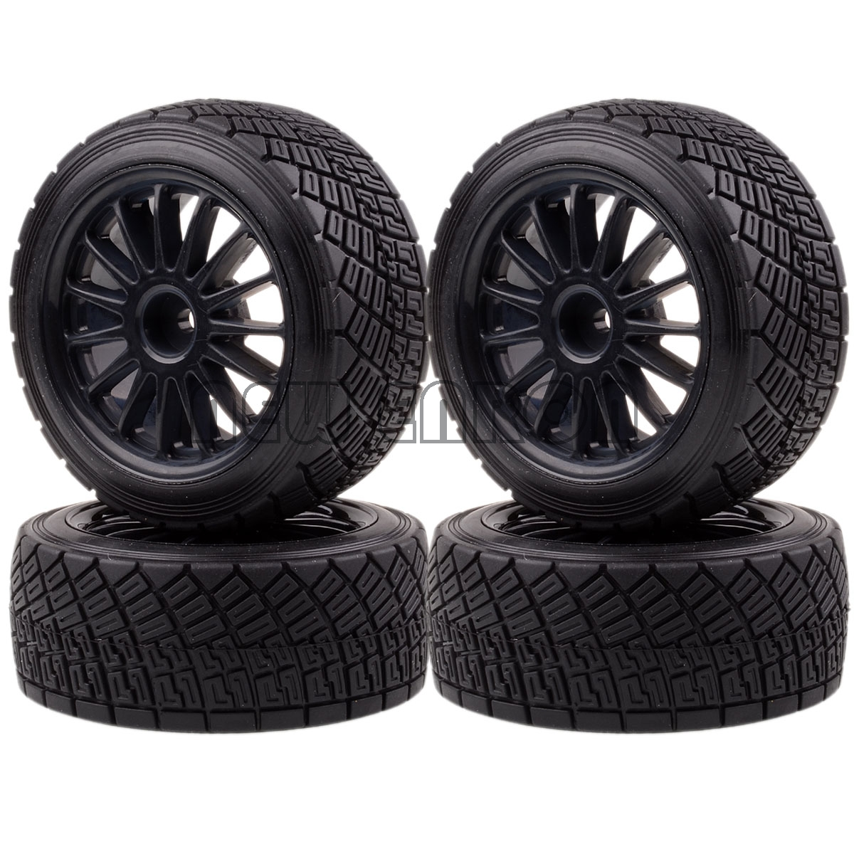 """Image 2 - NEW ENRON RC CAR PART RC 1/10 RC TIRES 4PCS 2.2"""" WHEEL Rim & Tires Tyre Fit 1/10 HPI WR8 Flux Rally 3.0 110697 94177-in Parts & Accessories from Toys & Hobbies"""