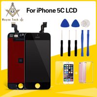 Excellent Quality No Dead Pixel For IPhone 5C 5G 5S LCD With Touch Screen Digitizer Assembly
