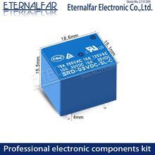 Time Relays SRD-12VDC-SL-A 5V 6V 9V 12V 24V 48V DC 10A 125V 250V AC SPDT NO Typc A 4PIN B-M C 5PIN PCB T73