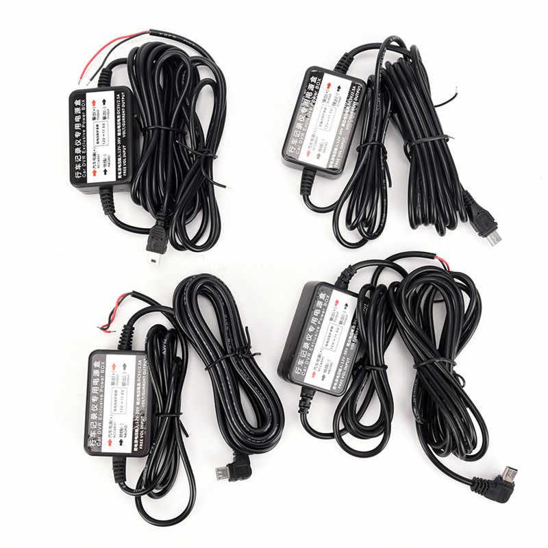 Haute qualité 2 * 1.18in Micro/Mini USB câblé chargeur de voiture convertisseur d'inverseur de puissance pour tablette téléphone DVR enregistreur GPS