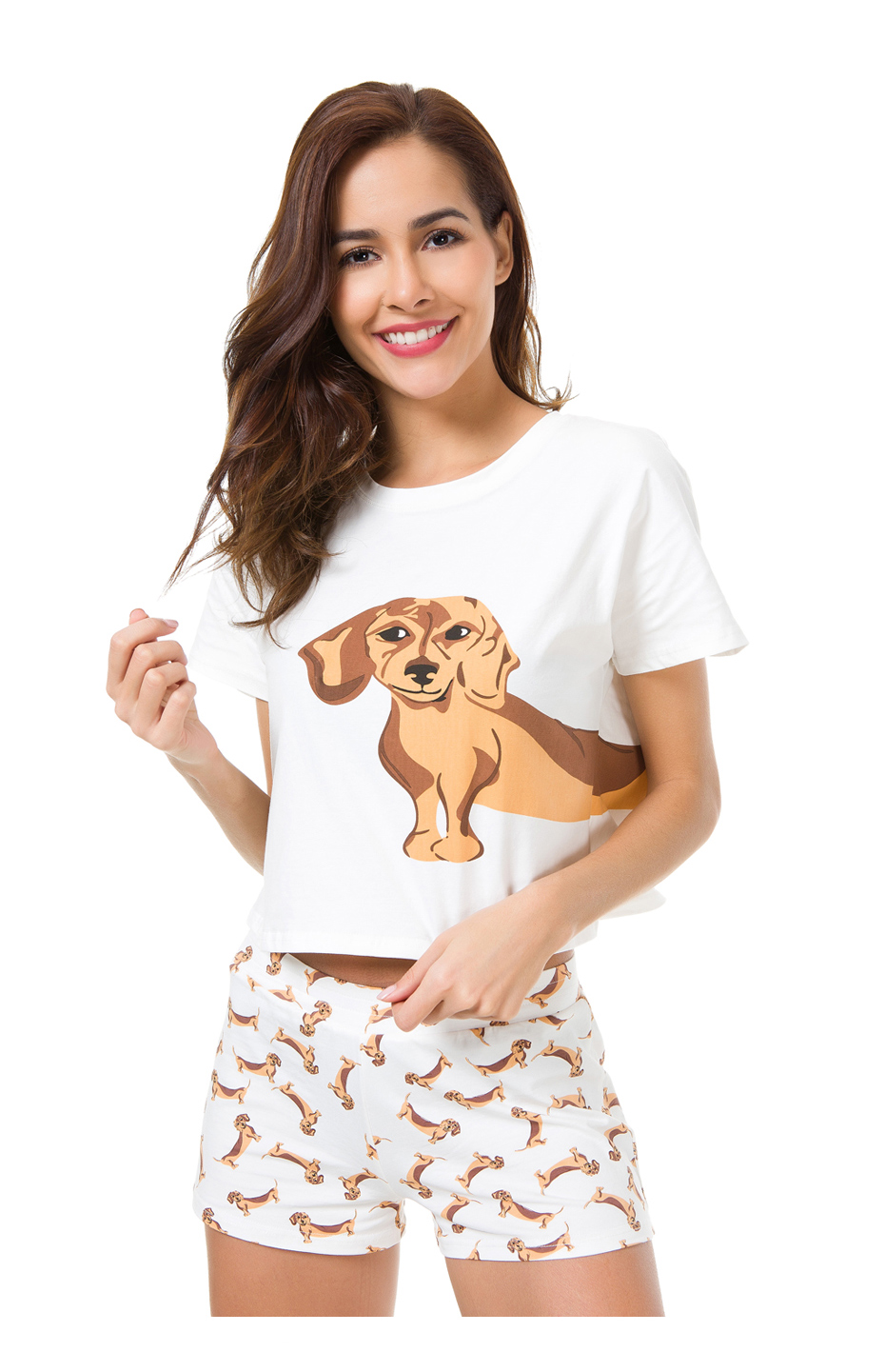 description expanded    Collapse     See more   . Similar products. See  more · Women s Corgi Pug Dog Print Sets 2 Pieces Pajama Suits Crop Top +  Shorts ... 2ec786b54