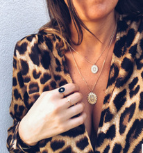 купить Women's Sexy V Neck Leopard Casual Print Tunic Long Sleeve Button Down Shirt Tops Low-cut Crop Blouse Hot Autumn Beach Ladies по цене 703.42 рублей