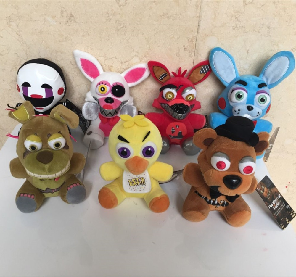 Five Nights At Freddy's Plush Doll FNAF 8 Styles Stuffed