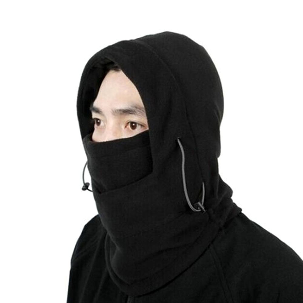 Full face mask neck warmer hood balaclava outdoor winter sports hats - Aliexpress Com Buy Motorcycle Face Mask Winter Ski Bike Warm Black Mask Bicycle Balaclava Outdoor Sports Full Cap Neck Warmer Accessories From Reliable