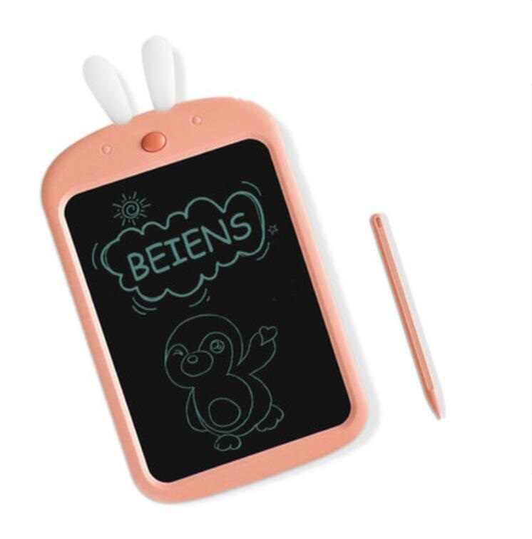 Beiens 8,5 pulgadas dibujo juguetes escritura niños tabla tableta borrado ultradelgado e-escritor tableta suave goma niños educación temprana juguete