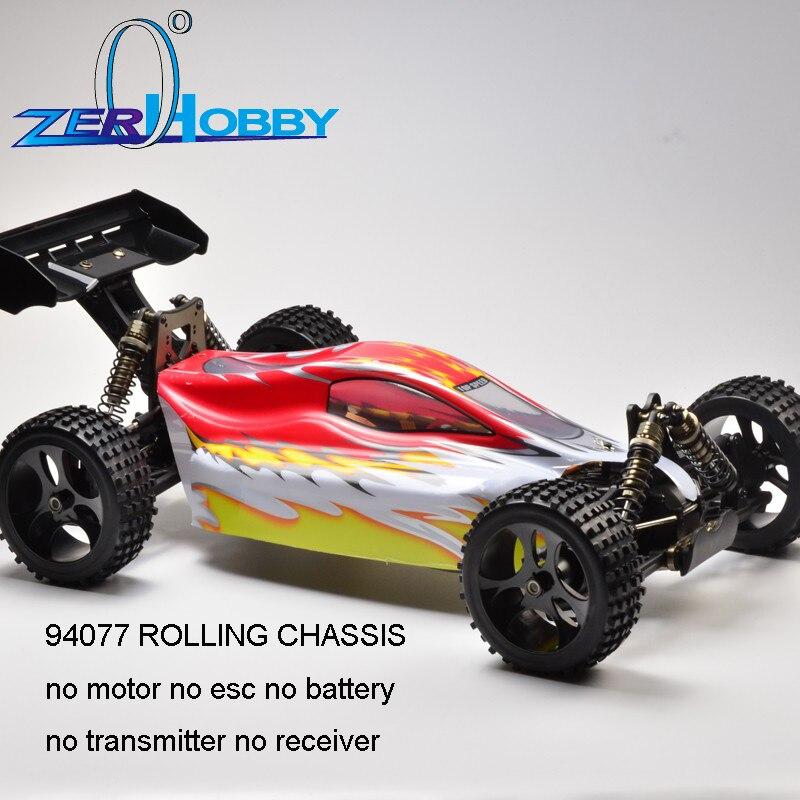 คุณภาพสูงใหม่รถ RC HSP Racing รถ Fable EB5 94077 1/5 ไฟฟ้า brushless 4x4 off road buggy rolling แชสซีไม่มี electronis-ใน รถ RC จาก ของเล่นและงานอดิเรก บน   1