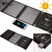 5V 2 6A 16W Solar Power Supply Charger Charging For Mobilephone PC Outdoor Travelling Powerbank DIY