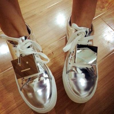 Women Fashion Sneakers Flats Shoes