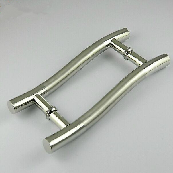 300mm S Types Stainless Steel Brushed Gate Door Handles Bright Ktv Office Hotel Wood Gl Pulls In Cabinet From Home