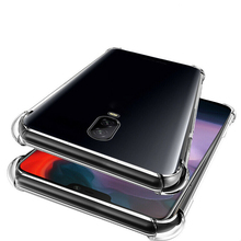 Clear Phone Case for OnePlus 7 7 Pro Shockproof Transparent Soft TPU Silicone Case Back Cover for OnePlus 3/3T/5/5T/6 Fundas [hk stock] soft case tpu transparent back cover for oneplus 3