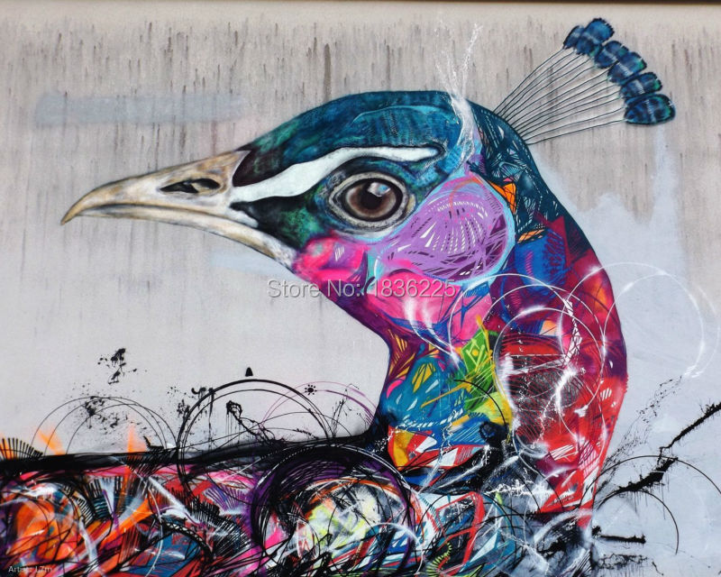 Excellente qualit oiseau peinture l 39 huile achetez des for Peinture de qualite