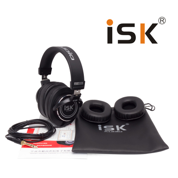 Professional ISK Hifi Headphone MDH8000 Monitor Earphone Computer Headset DJ fone de ouvido Audio Mixing Recording Gaming 3.5mm 4
