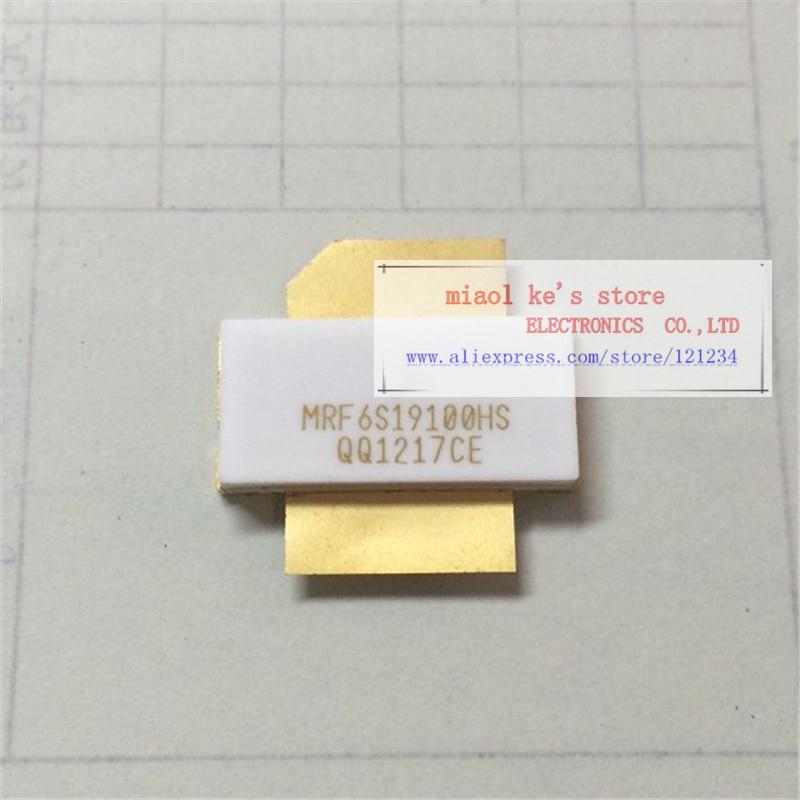 MRF6S19100HS MRF6S19100HSR3 MRF6S19100HSR5[CASE 465A-06 / NI-780S] 68V 900mA 22W 1.99GHz 16.1dB-High quality original transistor