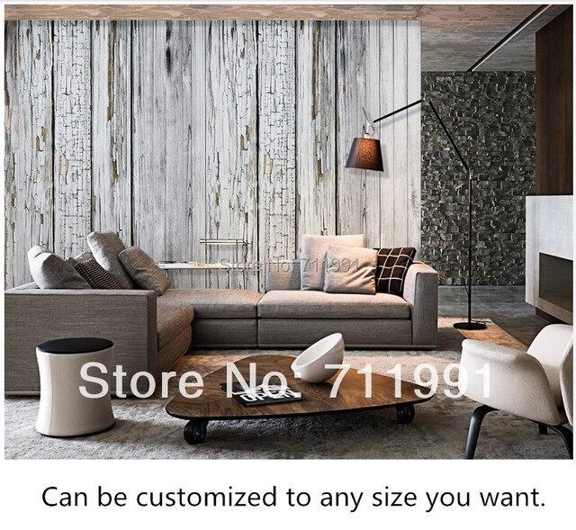 gratis verzending custom grote muurschildering plank slaapkamer, Deco ideeën