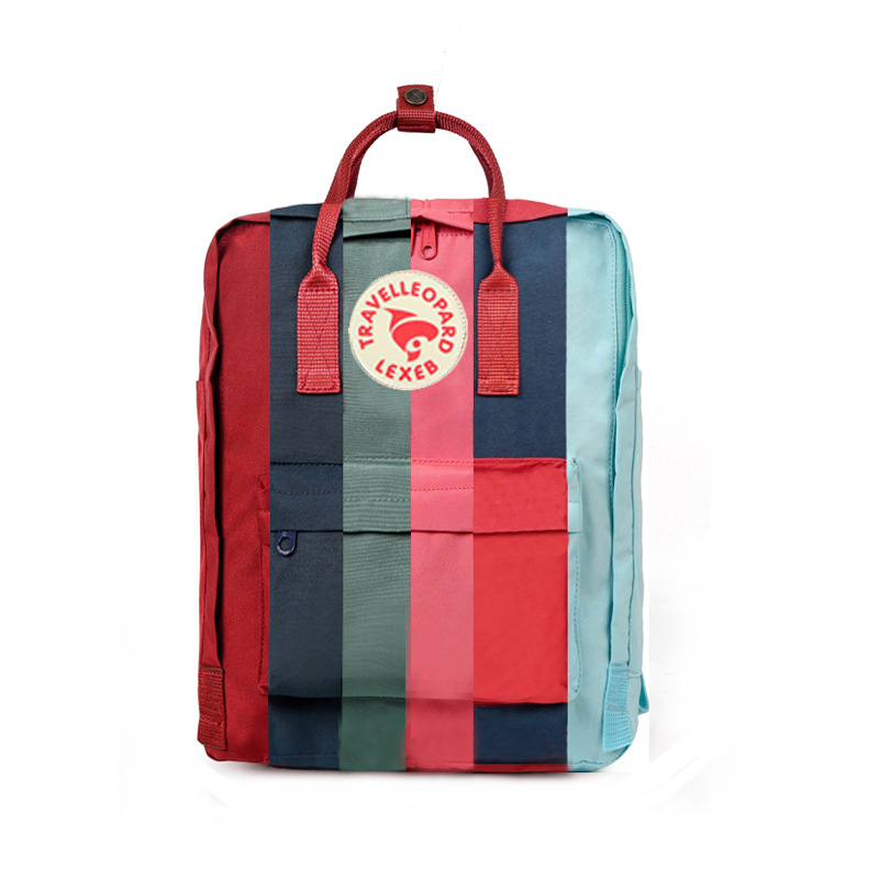 TRAVEL LEOPARD Kanken Backpack Classic Women Backpack Kanken Classic Bags Female For Teenage Girls 23510