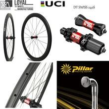 DT Swiss 240S Carbon road Bike Wheel 30mm 38mm 47mm 50mm 60mm 88mm 700c bicycle Rim with Hub Pillar Wing 20 Spoke Light Weight