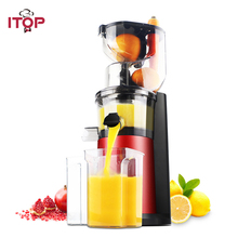ITOP 180W Fruit nutrition slow juicer Fruit Vegetable Tools Multifunctional Fruit Squeezer household Juicer machine 220V цена и фото